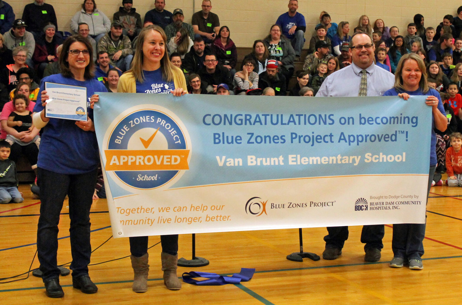 Horicon Blue Zones award image